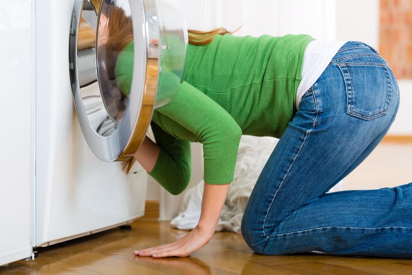 Lederjacken in der Waschmaschine