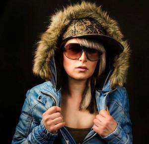 Winter Lederjacke mit Kapuze 2014