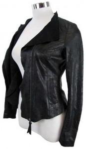 Beispiel für eine Jacke aus Glattleder