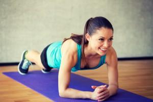 Planking für Rumpf, Bauch und Po