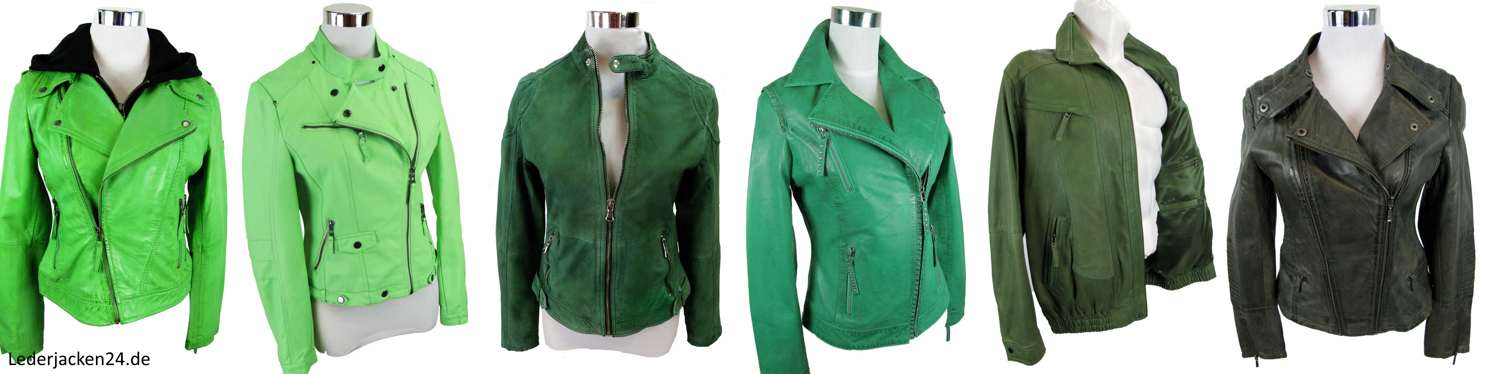grüne Lederjacken auf shop.lederjacken24.de