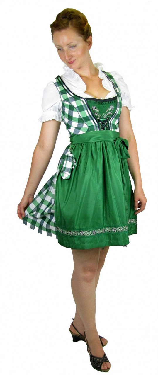 trachtenmode country life damen dirndl trachten dirndlkleid gras silber. Black Bedroom Furniture Sets. Home Design Ideas
