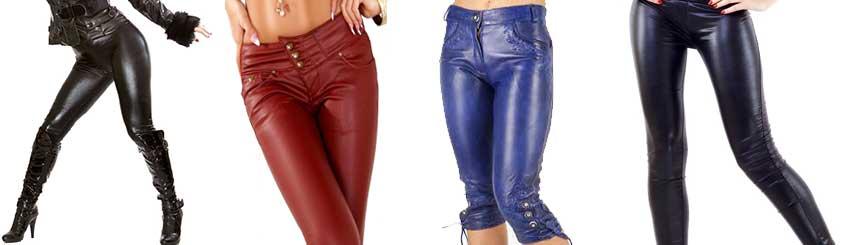 Damen Lederhosen - sexy und unwiderstehlich bei Lederjacken24 kaufen c8c493b35a