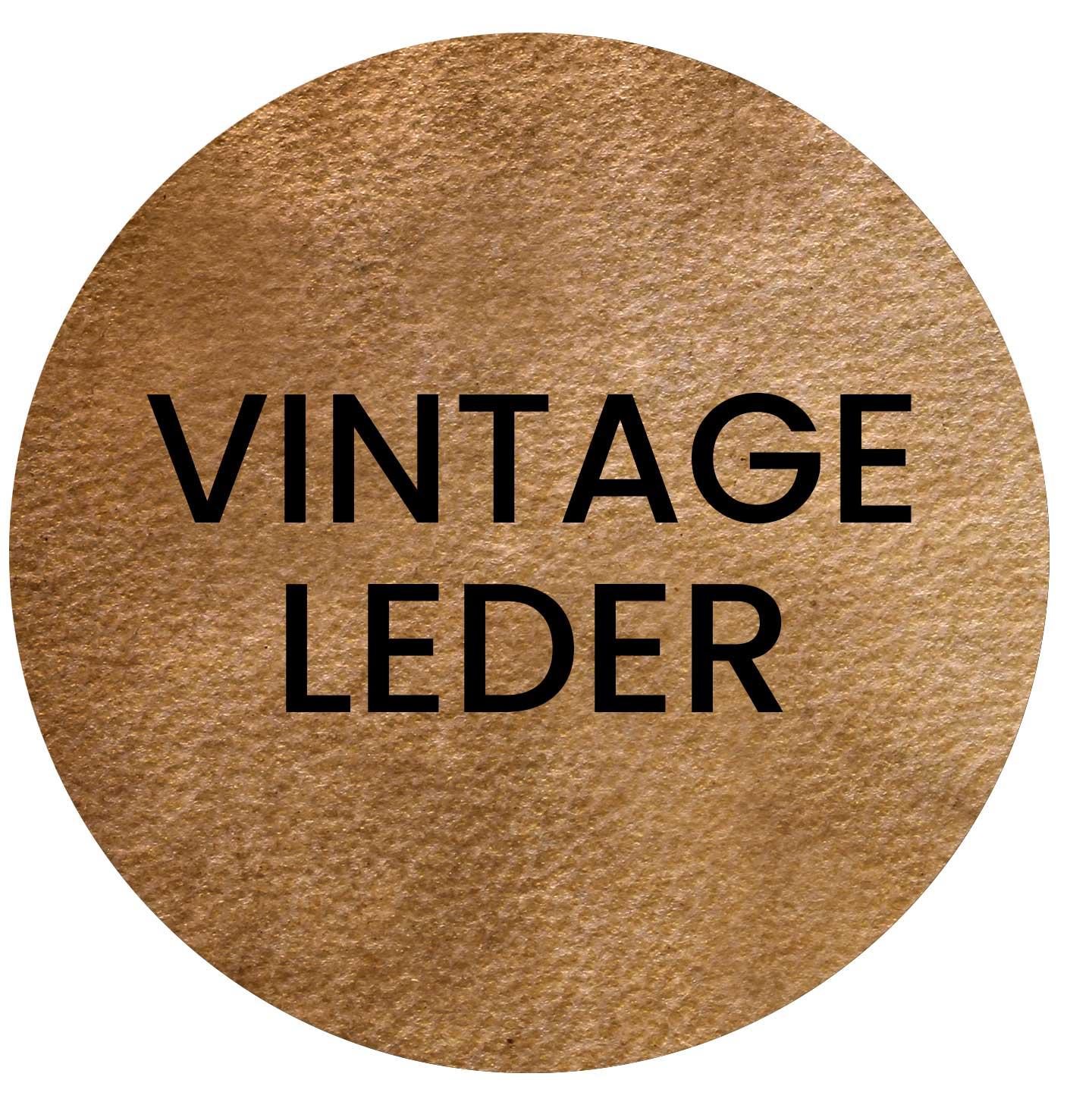 Vintage-Leder
