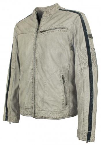 Kleidung & Accessoires Herren Lederjacke Racing Jacke