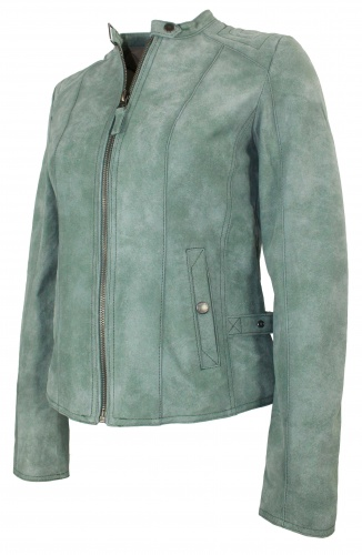 lederjacke tom tailor damen